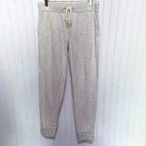 Monrow Cream Sweatpants Jogger Pants